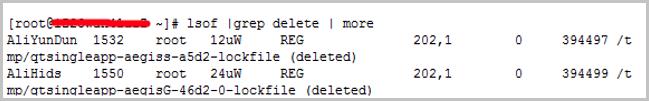 Linux实例磁盘空间满和inode满的问题排查方法